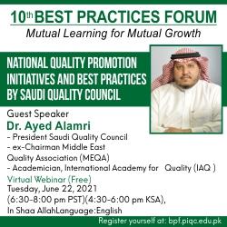 10th Best Practices Forum
