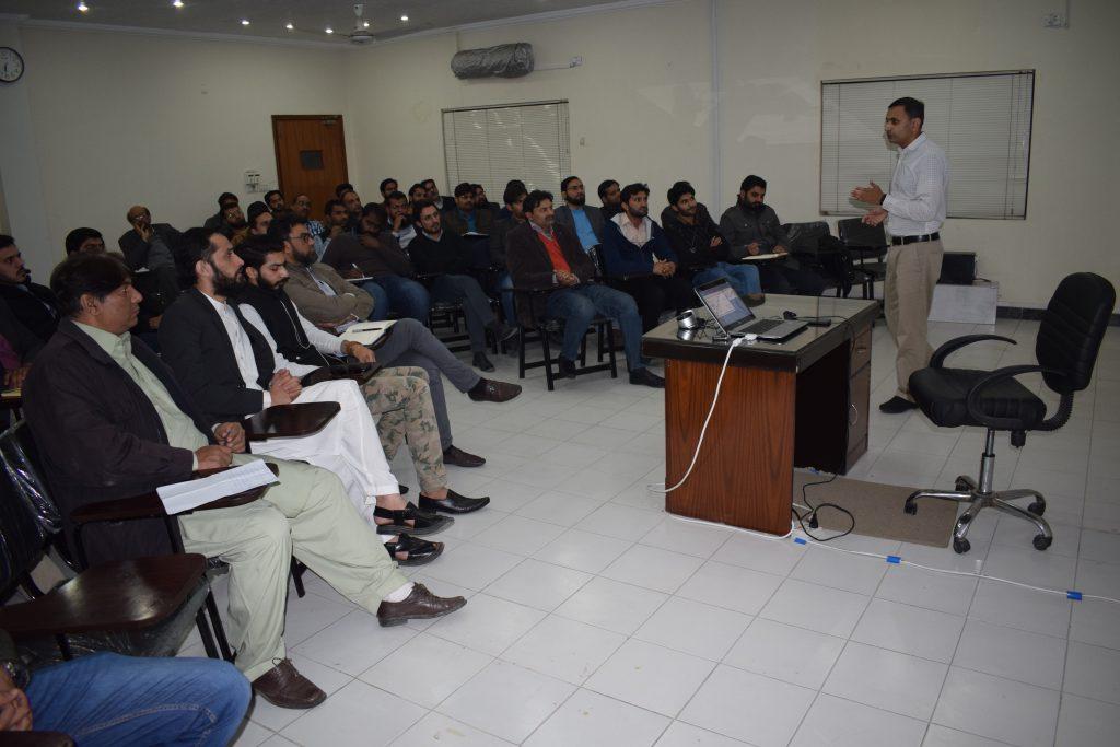 BPF - Amir Hussain during Class
