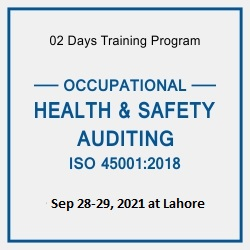OCCUPATIONAL HEALTH & SAFETY AUDITING-ISO 45001:2018 OHS
