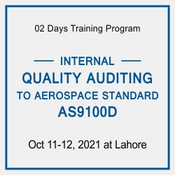 INTERNAL QUALITY AUDITING TO AEROSPACE STANDARD AS9100D